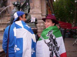 Le Mouvement Amérique Française ne lâche rien à la Saint-Jean (24 juin 2012, marche de soutien au mouvement citoyen québécois à Paris) dans Événements 457346_3204310833282_1812798052_o-300x222